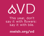 Advert for meish.org/vd