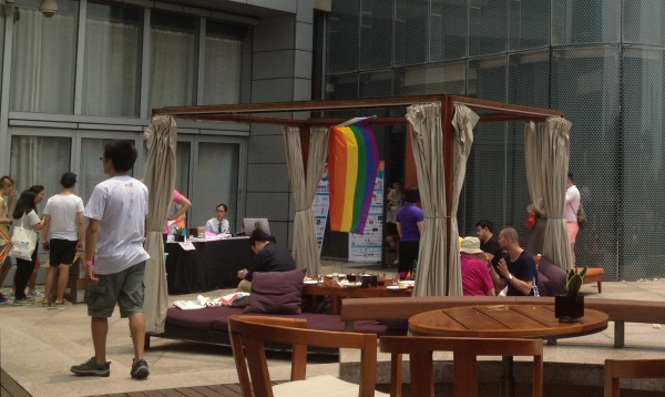 The Pink BBQ on Shanghai Pride's opening day