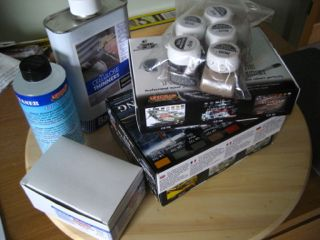 Painting materials for Missenden